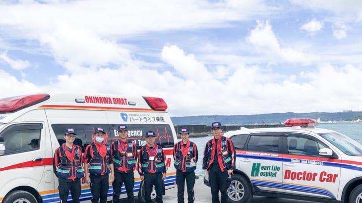 東部消防・ハートライフドクターカー連携訓練