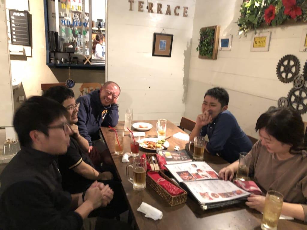 研修医たちとの食事会