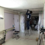 病室の陰圧化