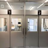 発熱対応陰圧室x2